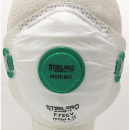 Respirador de Particulas con Valvula F720V-N95